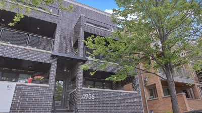Condo/Townhouse New: 4956 North Western Avenue #3N