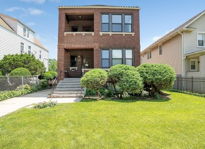 Chicago Multi Family Home For Sale: 3345 North Keating Avenue