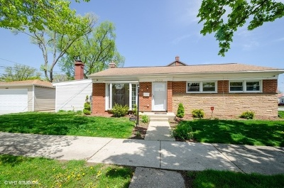 Skokie Single Family Home For Sale: 4000 Cleveland Street