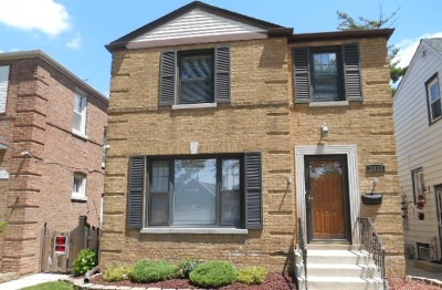 Chicago Single Family Home New: 3523 North Plainfield Avenue