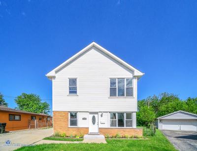 Chicago Single Family Home New: 8320 South Kilpatrick Avenue