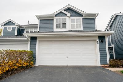 Schaumburg Condo/Townhouse For Sale: 28 Sarahs Grove Lane