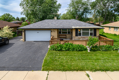 Worth Single Family Home For Sale: 6816 West 116th Street