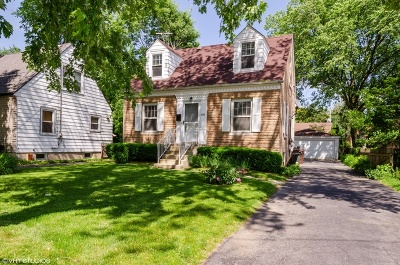 Skokie Single Family Home For Sale: 8447 Harms Road