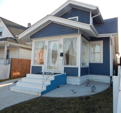 Chicago Single Family Home New: 3912 North Harlem Avenue