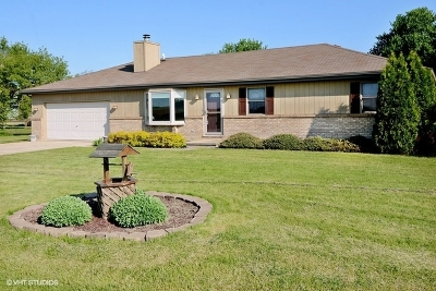 Yorkville Single Family Home New: 12475 Fox Road