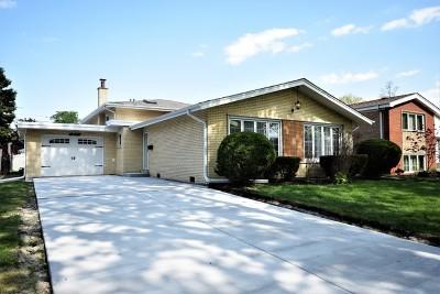 Oak Lawn Single Family Home New: 10721 Lawler Avenue