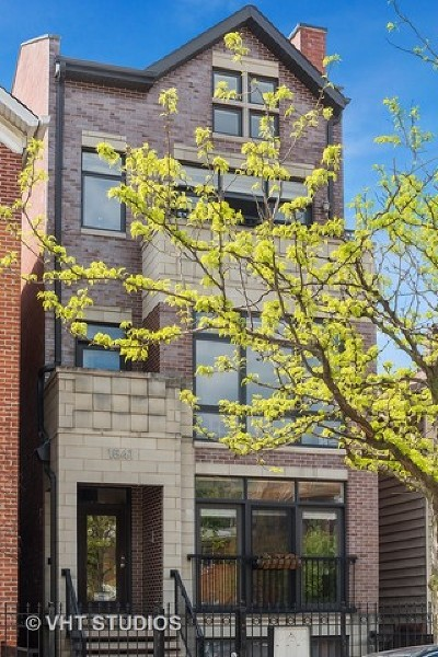 Chicago Condo/Townhouse New: 1541 West Cortez Street #1