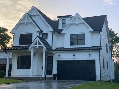 Western Springs Single Family Home New: 1428 Oak Street
