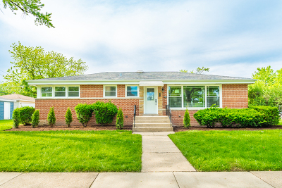 Skokie Single Family Home For Sale: 4032 Lyons Street