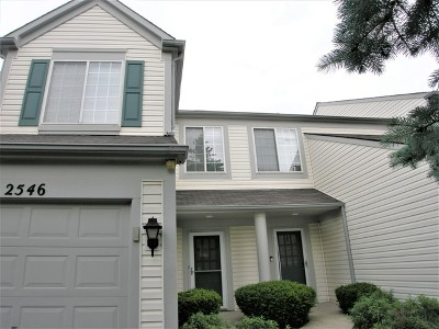 Naperville Condo/Townhouse For Sale: 2546 Bordeaux Lane