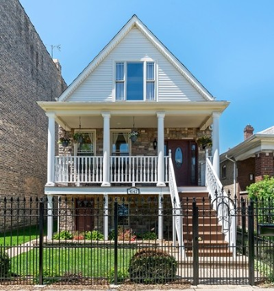 Single Family Home New: 4142 North Troy Street
