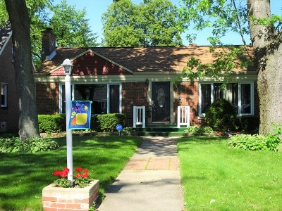 Oak Lawn Single Family Home New: 9724 Brandt Avenue