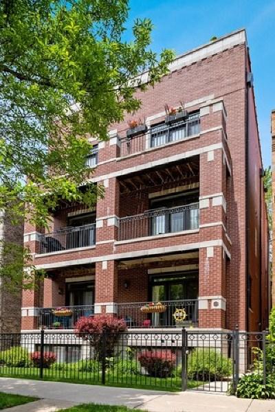 Condo/Townhouse For Sale: 828 West Waveland Avenue #1R