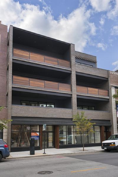 Chicago Condo/Townhouse New: 1342 West Belmont Avenue #3W