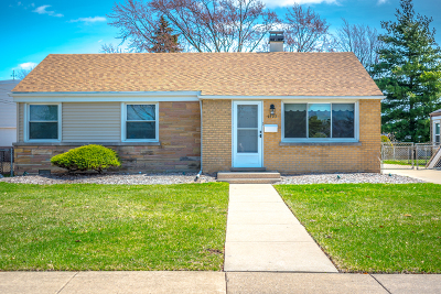 Morton Grove Single Family Home For Sale: 9323 National Avenue