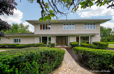 Oak Brook Single Family Home New: 10 Camelot Drive
