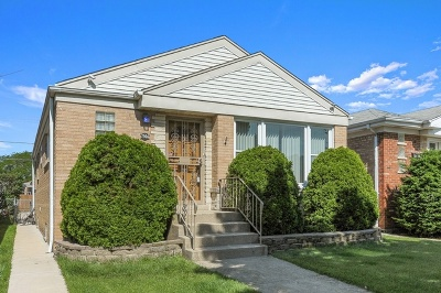 Edison Park Single Family Home New: 7506 North Octavia Avenue
