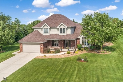 New Lenox Single Family Home Re-Activated: 22529 South Country Lane