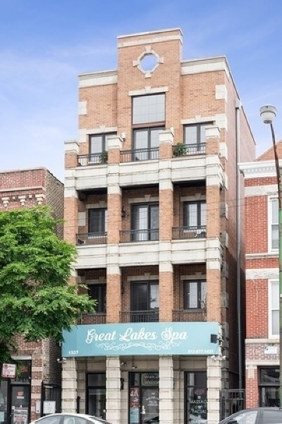 Condo/Townhouse New: 1337 North Ashland Avenue #3