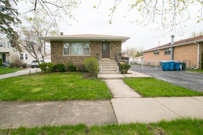 Alsip Single Family Home For Sale: 11625 South Laramie Avenue
