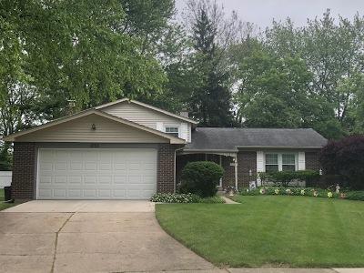 Buffalo Grove Single Family Home Price Change: 1253 Selwyn Lane