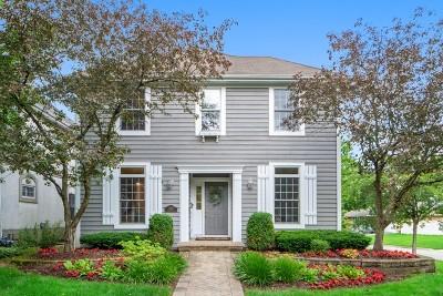 Western Springs Single Family Home New: 4138 Garden Avenue