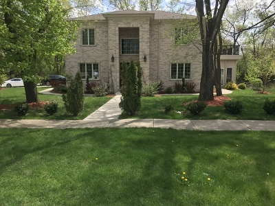 Schaumburg Single Family Home New: 105 West Thacker Street