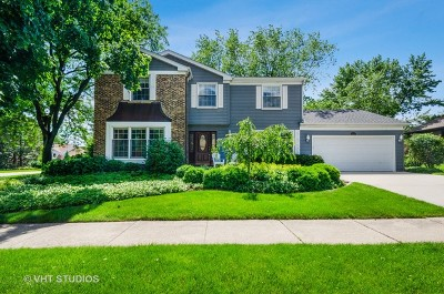 Wheaton Single Family Home For Sale: 1526 McCormick Place