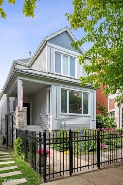 Chicago Single Family Home New: 1418 West Altgeld Street