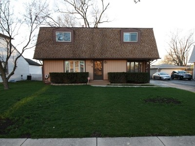 Oak Lawn Single Family Home For Sale: 9542 Rutherford Avenue