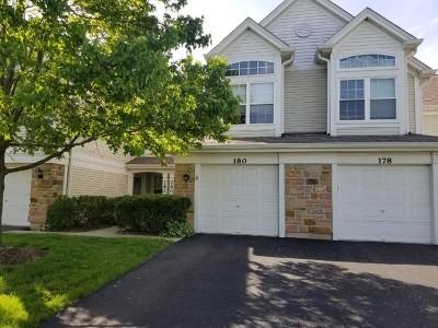 Carol Stream Condo/Townhouse For Sale: 180 Concord Lane
