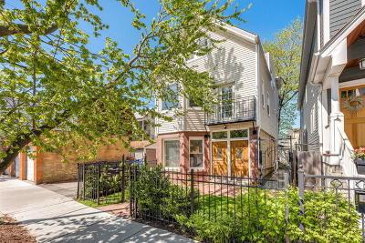 Chicago Multi Family Home For Sale: 3214 North Leavitt Street