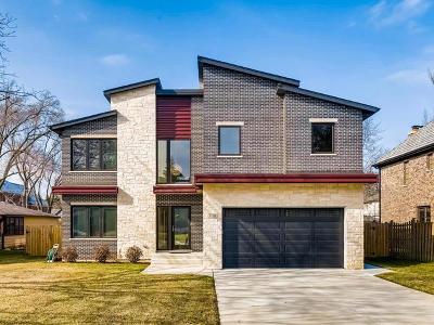 Glenview Single Family Home For Sale: 3118 Springdale Avenue