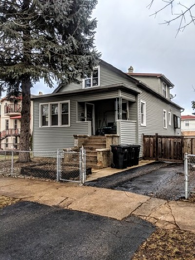 Chicago Residential Lots & Land Contingent: 4117 North Mobile Avenue