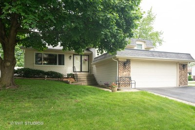 Hoffman Estates Single Family Home Price Change: 4401 Mumford Drive