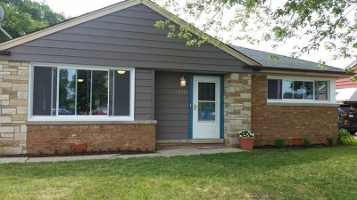 Oak Lawn Single Family Home For Sale: 10736 South Pulaski Road