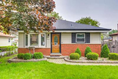 Wood Dale Single Family Home Contingent: 285 Ash Avenue
