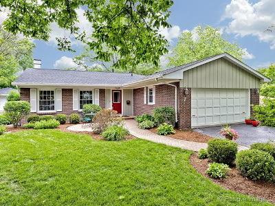 Clarendon Hills Single Family Home For Sale: 7 Tuttle Avenue