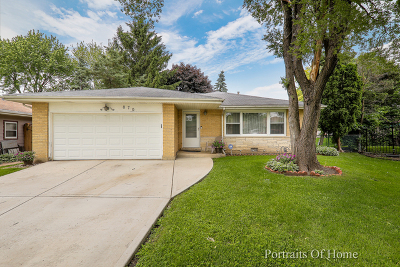 Palatine Single Family Home For Sale: 870 East Marshall Court