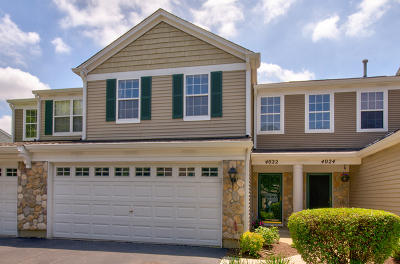 Plainfield Condo/Townhouse New: 4022 Oak Tree Lane