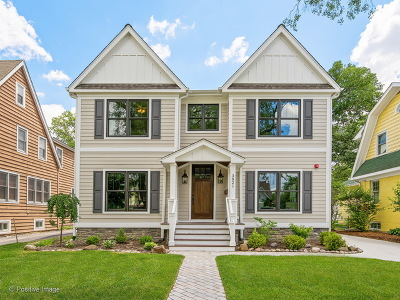 Western Springs Single Family Home Re-Activated: 3821 Johnson Avenue