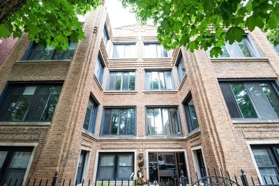Condo/Townhouse For Sale: 916 West Ainslie Street #3W