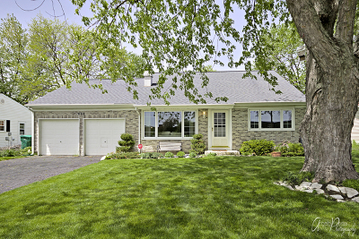 Buffalo Grove Single Family Home New: 845 Penny Lane