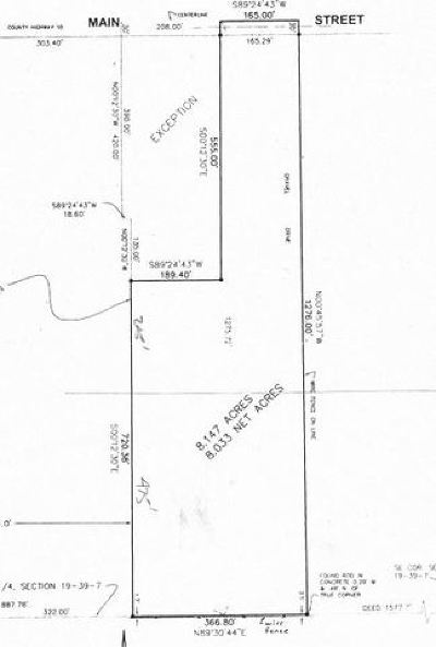 Elburn Residential Lots & Land For Sale: 44w301 Main Street