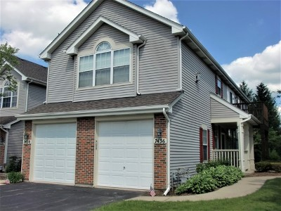 Carpentersville Condo/Townhouse Contingent: 7436 Grandview Court