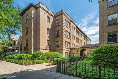 Andersonville Condo/Townhouse For Sale: 1733 West Balmoral Avenue #2C