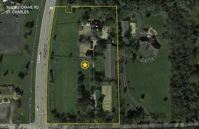 St. Charles Residential Lots & Land For Sale: 36w982 Crane Road