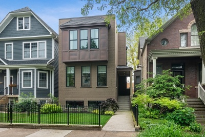Single Family Home For Sale: 2743 North Mozart Street