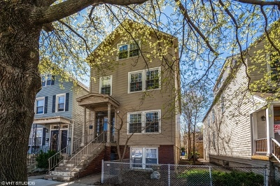 Multi Family Home Contingent: 1541 West Barry Avenue